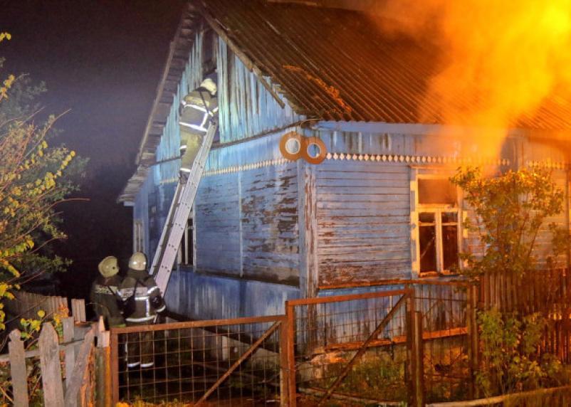 На Смоленщине в пожарах погибли 40 человек