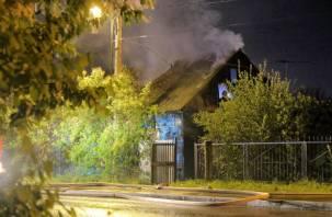 Сжёг все мосты. Рославльчанин поджёг дом своей бывшей возлюбленной