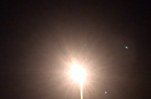 «Быстро летел». Смоляне сняли на видео необычный летающий объект