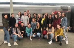 Студенты СмолГУ отправились на финал «Российской студенческой весны»