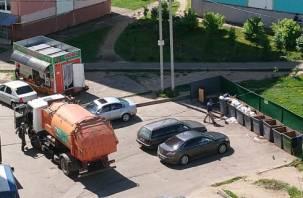 В Смоленске на Королевке зафиксировали «автооленей»