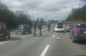 Серьезное ДТП произошло на Рославльском шоссе в Смоленске