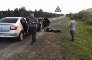 Вчерашнее убийство в Ярцеве. Преступник устроил пожар, чтобы скрыть следы кровавой расправы