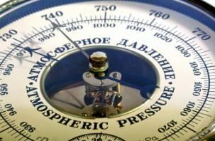В Москве установилось рекордно низкое атмосферное давление