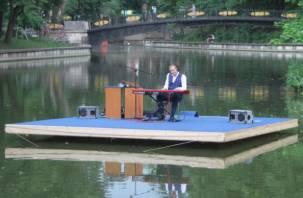 Впервые в Смоленске прозвучала «Музыка на воде»