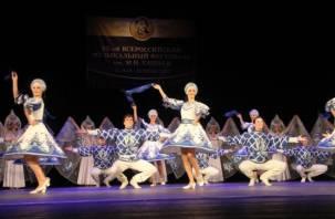 В Смоленске выступил известный театр танца «Гжель»