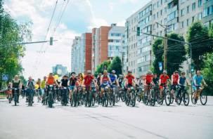 Более 600 смолян приняли участие в велопараде