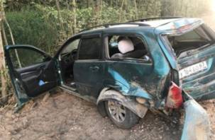 В Смоленском районе Солярис подбил Форда. Госпитализирована женщина