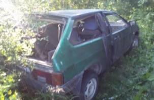 В Холм-Жирковском районе ВАЗ вылетел в кювет. Пассажир госпитализирован