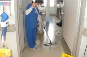Обнародовали зарплаты смоленских санитарок