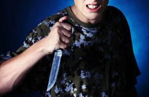 Подросток с ножом перепугал сафоновцев