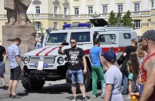 Росгвардия показала свою мощь в центре Смоленска