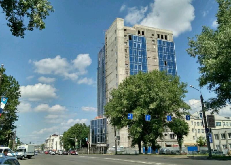Пятизвездочную гостиницу на проспекте Гагарина предложили вывести за «красные линии»