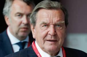 Экс-канцлер Германии Шрёдер считает законным воссоединение Крыма с Россией