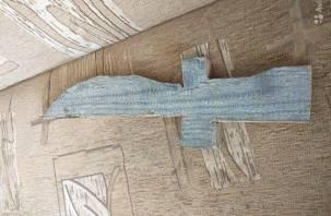 Уникальный «деривяный» меч-кладенец с avito повеселил смолян