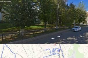 В Смоленске на месте зеленой зоны может появиться еще одна гостиница
