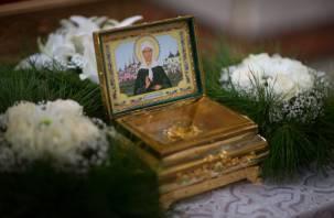 В Смоленске прибудет ковчег с мощами святой Матроны Московской