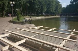 В центре Смоленска появится «Музыка на воде»