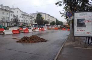 Смолян предупреждают в понедельник о гигантской пробке на проспекте Гагарина