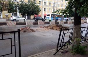 Город закипает. Рабочая неделя в Смоленске началась с гигантских пробок и транспортного хаоса