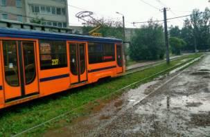 «Трамвайный тупик»: дорогу в Смоленске приехал снимать федеральный телеканал