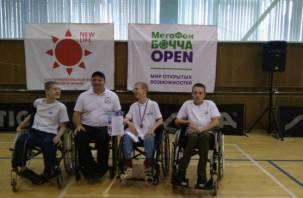 Смоляне приняли участие в Кубке России по бочче