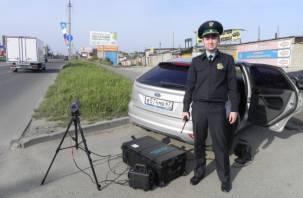 В Смоленске судебные приставы ловили должников на дороге