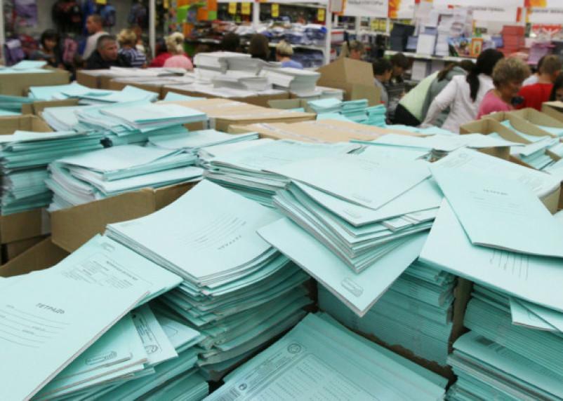 Почему не стоит покупать детям тетради с белоснежными листами