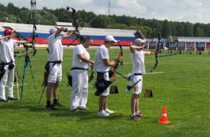 Смоленские лучники участвуют в чемпионате ЦФО