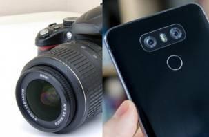 Может ли камера мобильного телефона заменить зеркальный фотоаппарат?