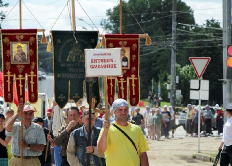 Из Витебска в Смоленск вновь пройдет православный крестный ход
