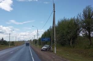 Чудом выжившие. Серьезная авария произошла на объездной дороге Смоленска