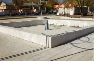 На улице Кутузова отключили фонтан