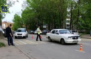 Полиция ищет очевидцев ДТП со сбитой женщиной в Смоленске