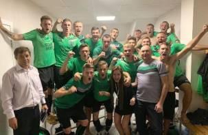 Про футболистов из Смоленска с восторгом пишут федеральные СМИ