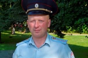 Полицейский спас утопающего в озере смолянина
