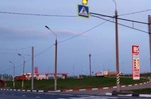 На трассе в Смоленской области временно погаснут фонари