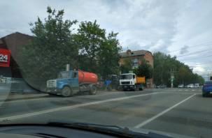В Смоленске жители улиц Нахимова и Багратиона остались без воды из-за аварии