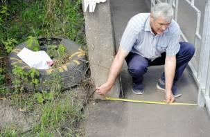 Общественники просят убрать недостатки при ремонте улицы Лавочкина в Смоленске