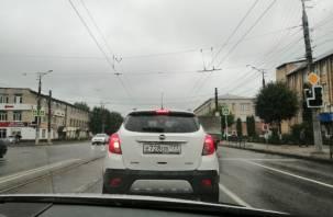 Доброе утро, Смоленск. На перекрестке Шевченко-Бабушкина не работают светофоры