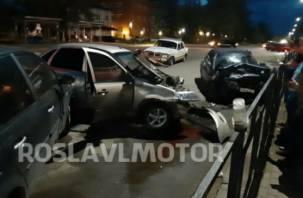 Стали известны подробности массовой аварии в Рославле