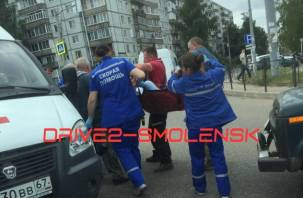 Скорая увезла в больницу. На улице Попова сбили пешехода