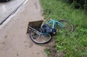 В Гагаринском районе велосипедист подбил иномарку и оказался в больнице