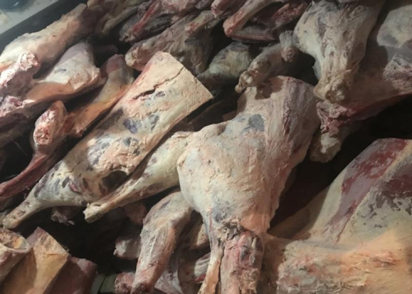 21 тонну замороженного мяса смоляне вернули в Беларусь