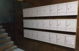 За одну ночь вандалы в Смоленске разворотили 500 почтовых ящиков