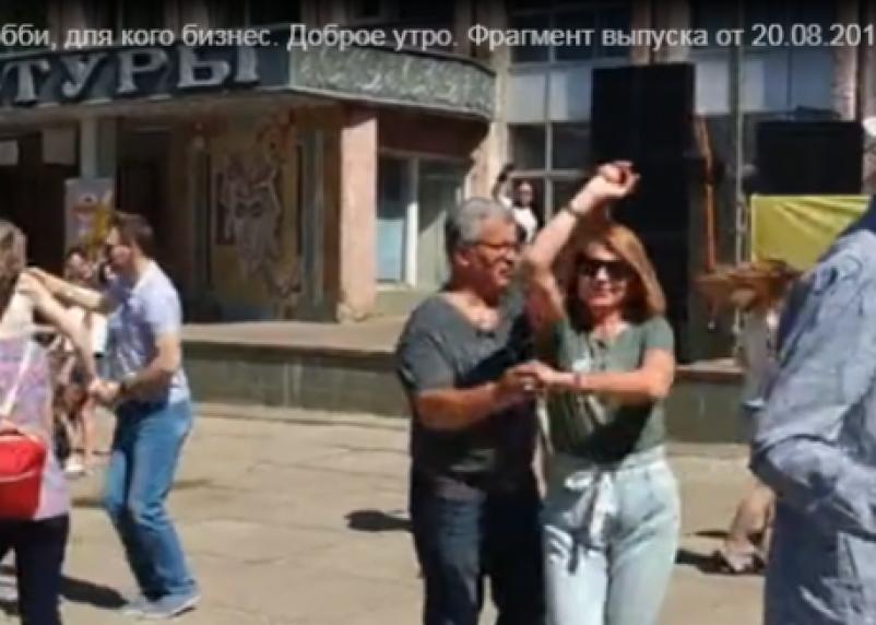 Смоленскую школу танцев показали в передаче «Доброе утро»