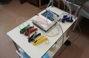 Смоленский госпиталь получил новое оборудование