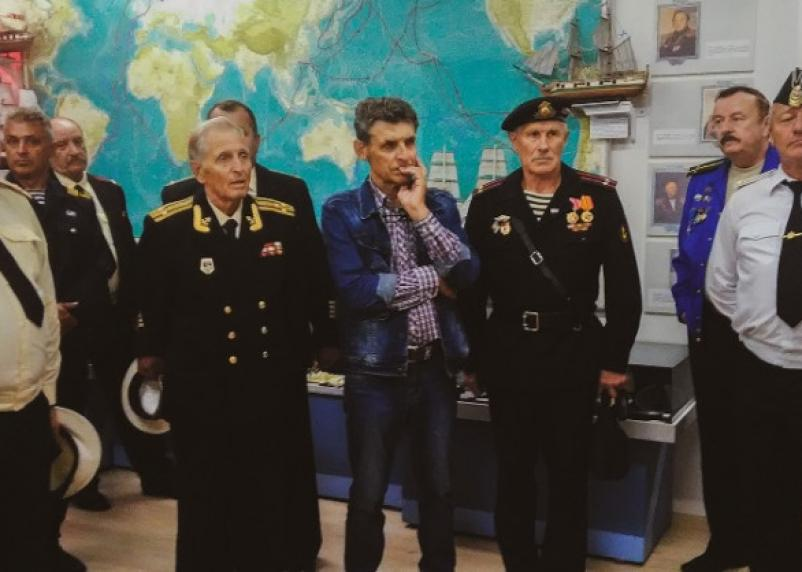 Смоленск посетила делегация моряков из Беларуси