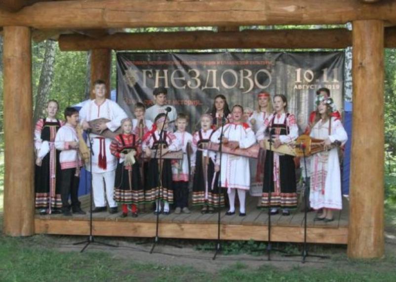 В Смоленске продолжается фестиваль исторической реконструкции «Гнёздово-2019»