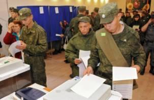 В Госдуме хотят лишить военнослужащих-срочников права голосовать в регионах
